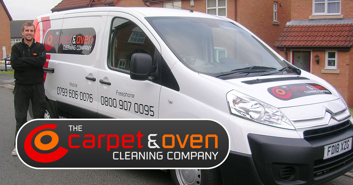 the carpet and oven cleaning company