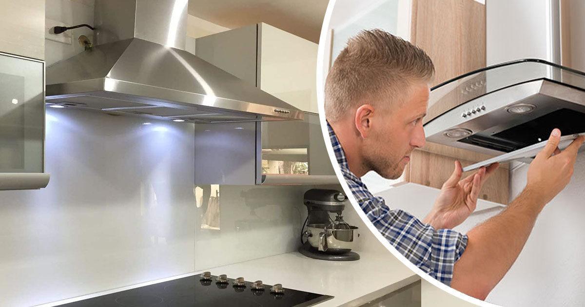 clean cooker hood